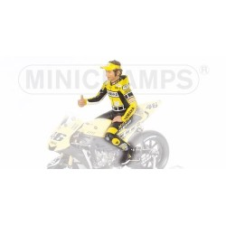 Figurine 1/12 Valentino Rossi Moto GP Laguna Seca 2005 Minichamps 312050096