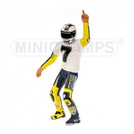 Figurine 1/12 Valentino Rossi Moto GP Sepang 2005 Minichamps 312050176