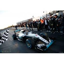Mercedes F1 W07 Hybrid 6 Sindelfingen Demonstration Run World Champion 2016 Nico Rosberg Minichamps 410161006