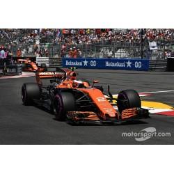 McLaren Honda MCL32 Grand Prix de Monaco 2017 Stoffel Vandoorne Minichamps 537174602
