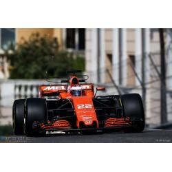 McLaren Honda MCL32 Grand Prix de Monaco 2017 Jenson Button Minichamps 537171822