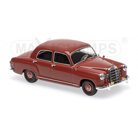 Mercedes benz 180 w120 1955 rouge maxichamps 940033101 for Mercedes benz loyalty discount
