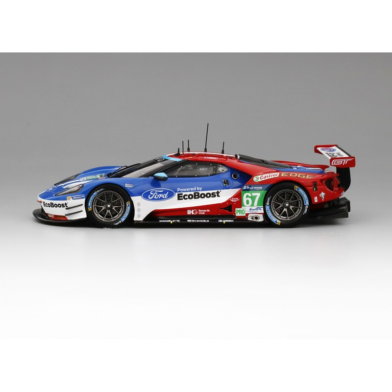 ford gt 67 24 heures du mans 2016 truescale tsm430107 miniatures minichamps. Black Bedroom Furniture Sets. Home Design Ideas