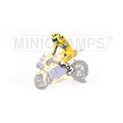 Figurine 1/12 Valentino Rossi Moto GP 2006 Minichamps 312060146