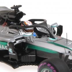 Mercedes F1 W07 Hybrid F1 Singapour 2016 Lewis Hamilton Halo Testing Minichamps 417160444