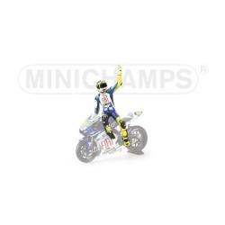 Figurine 1/12 Valentino Rossi Moto GP Jerez 2007 Minichamps 312079046