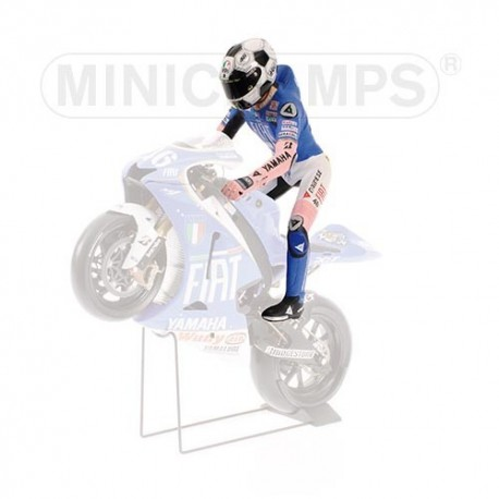 Figurine 1/12 Valentino Rossi Moto GP Barcelone 2008 Minichamps 312080086