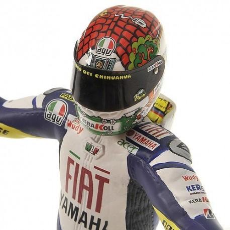 Figurine 1/12 Valentino Rossi Moto GP Misano 2008 Minichamps 312080146