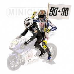 Set Figurines Valentino Rossi / Angel Nieto Le Mans 2008 Minichamps 312080190