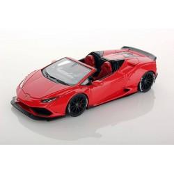 Lamborghini Huracan Spyder Aftermarket Rosso Mars Looksmart LS470C