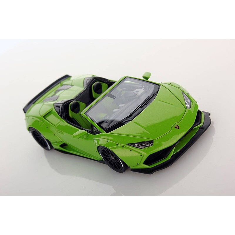 lamborghini huracan spyder aftermarket verde mantis looksmart ls470d miniatures minichamps. Black Bedroom Furniture Sets. Home Design Ideas