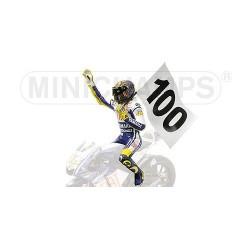 Figurine 1/12 Valentino Rossi Moto GP Assen 2009 Minichamps 312090176