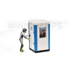 Figurine 1/12 Valentino Rossi Moto GP Jerez 2009 Minichamps 312090276