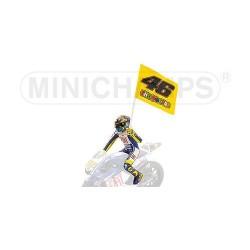 Figurine 1/12 Valentino Rossi Moto GP Misano 2009 Minichamps 312090376