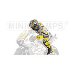 Figurine 1/12 Valentino Rossi Moto GP Laguna Seca 2010 Minichamps 312100146