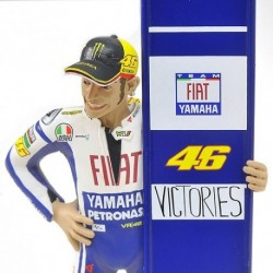 Figurine 1/12 Valentino Rossi Moto GP Sepang 2010 Minichamps 312100246