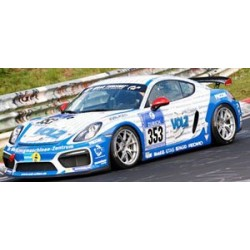 Porsche Cayman GT4 Clubsport 353 24 Heures du Nurburgring 2016 Minichamps 437166153