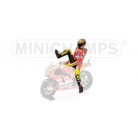 Figurine 1/12 Valentino Rossi Moto GP Qatar 2011 Minichamps 312110046