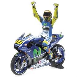 Yamaha YTZ-M1 Moto GP Silverstone 2015 Valentino Rossi Minichamps 122153146