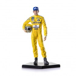 Figurine 1/10 Ayrton Senna Winner F1 Monaco 1987 Iron Studio IS171987