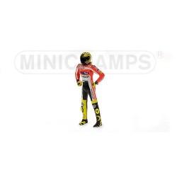 Figurine 1/12 Valentino Rossi Moto GP Ducati Launch 2011 Minichamps 312110846