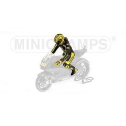 Figurine 1/12 Valentino Rossi Moto GP Ducati Test 2010 Minichamps 312110876