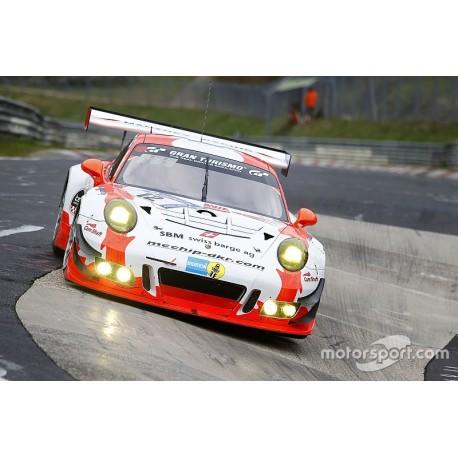 Porsche 911 GT3 R (991) 12 24 Heures du Nurburgring 2017 Minichamps 437176012