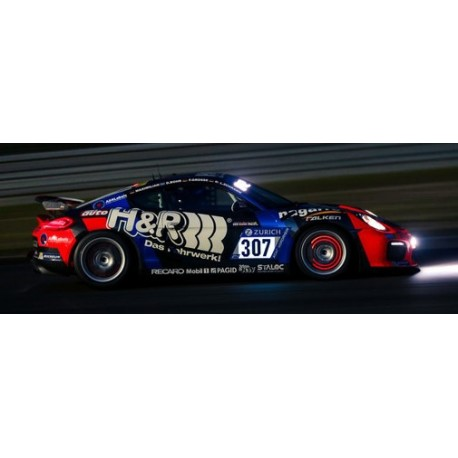 Porsche Cayman GT4 Clubsport 307 24 Heures du Nurburgring 2017 Minichamps 437171607