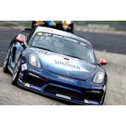 Porsche Cayman GT4 Clubsport 301 24 Heures du Nurburgring 2017 Minichamps 437171601