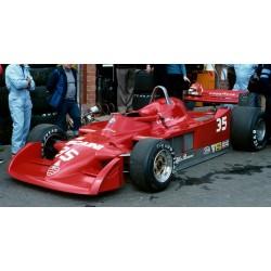 Alfa Romeo 177 35 Grand Prix de Belgique 1979 Bruno Giacomelli Looksmart LSAR08