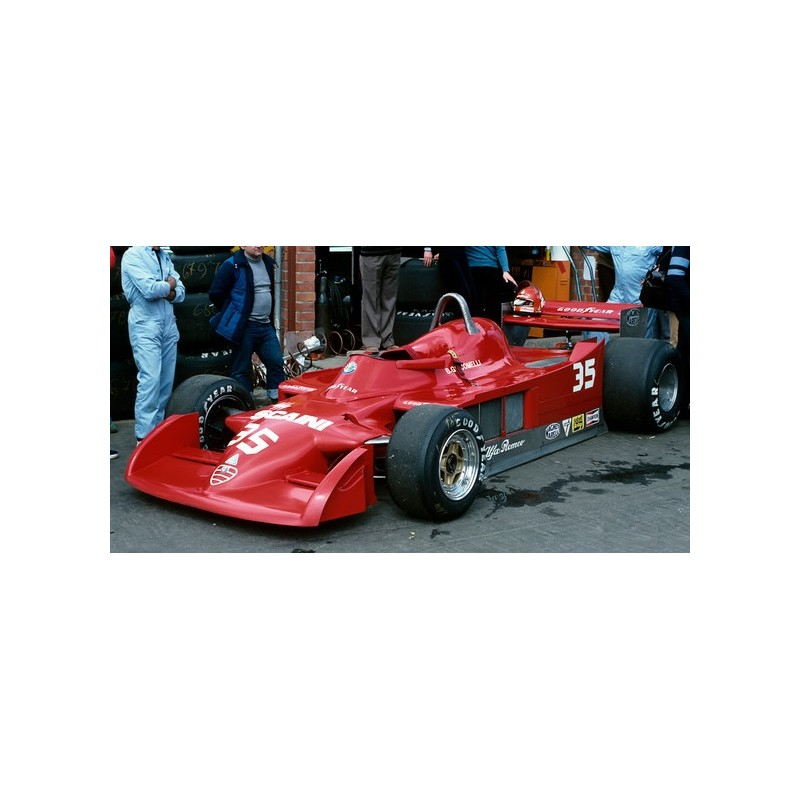 Alfa Romeo 177 35 Grand Prix De Belgique 1979 Bruno