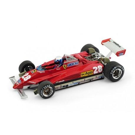 Ferrari 126 C2 F1 San Marino 1982 Didier Pironi Brumm R268CH