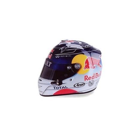 Casque 1/2 Arai Sebastian Vettel F1 Suzuka 2011 Minichamps 321110301
