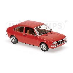 Alfa Romeo Alfasud 1972 Rouge Maxichamps 940120100