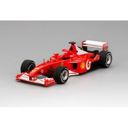 Ferrari F2002 F1 World Champion France 2002 Michael Schumacher BBR BBRCS002
