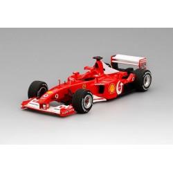 Ferrari F2002 F1 World Champion France 2002 Michael Schumacher BBR BBRCS002