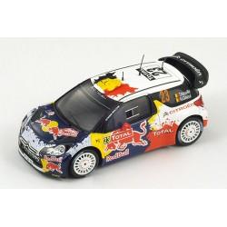 Citroen DS3 23 WRC Monte Carlo 2012 Neuville Gilsoul Spark S3328