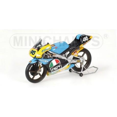 Aprilia GP 125 1996 Valentino Rossi Avec figurine Minichamps 322960046