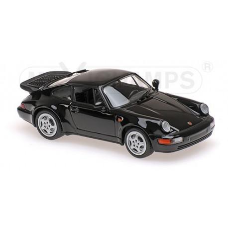 Porsche 911 Turbo 964 1990 Noire Maxichamps 940069101