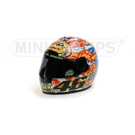 Casque 1/2 AGV Valentino Rossi GP 500 Mugello 2001 Minichamps 327010076