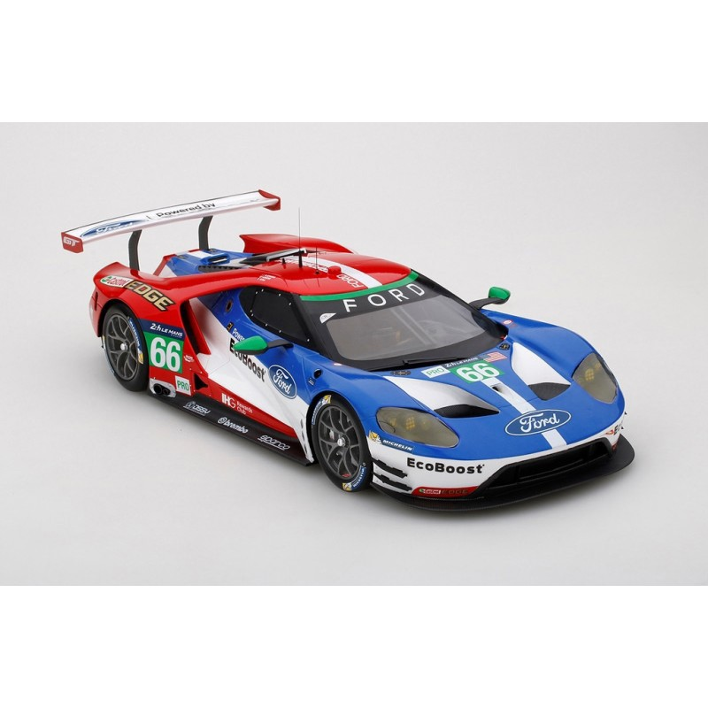 ford gt 66 24 heures du mans 2016 truescale ts0066 miniatures minichamps. Black Bedroom Furniture Sets. Home Design Ideas