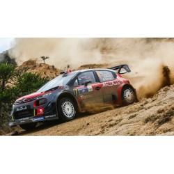 Citroen C3 WRC 7 Rallye Mexique 2017 Meeke Nagle IXO RAM638B