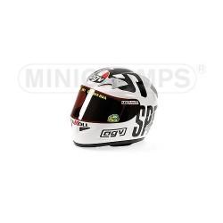 Casque 1/2 AGV Valentino Rossi Moto GP Philip Island 2004 Minichamps 327040096