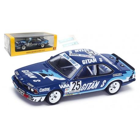 BMW 635 CSI 25 24 Heures de Spa-Francorchamps 1983 Spark SB065