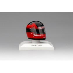 Casque 1/8 Gilles Villeneuve 1978 Scuderia Ferrari Truescale TSMAC003