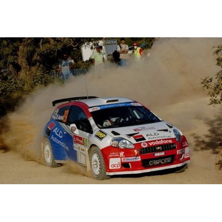Fiat Punto S2000 19 WRC Portugal 2008 Auriol Giraudet IXO RAM332