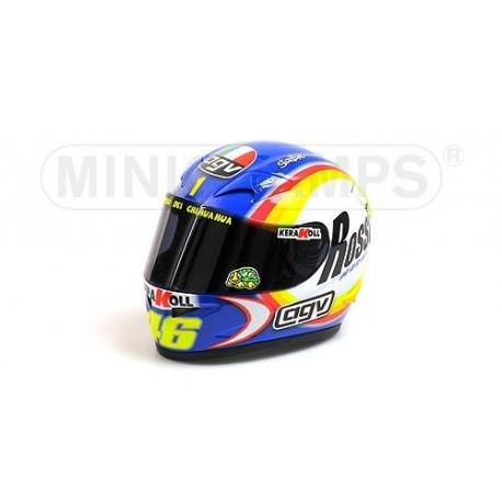 Casque 1/2 AGV Valentino Rossi WC Moto GP Sepang 2005 Minichamps 327050066