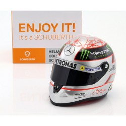 Casque 1/2 Michael Schumacher 300 GP Spa 2012 Schuberth