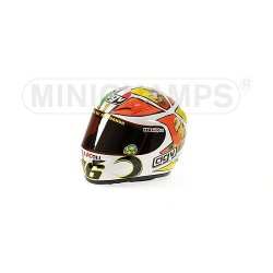 Casque 1/2 AGV Valentino Rossi Moto GP Mugello 2006 Minichamps 327060076