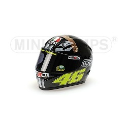Casque 1/2 AGV Valentino Rossi Moto GP Test Jerez 2007 Minichamps 327070046